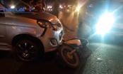 Bình Dương: Ô tô tông hàng loạt xe máy, nhiều người bị thương