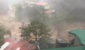 Clip siêu bão Mangkhut sức gió 320 km/giờ đổ bộ Philippines
