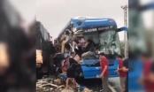 Clip: Tai nạn giao thông nghiêm trọng, xe giường nằm tông xe tải và container tại Quảng Bình