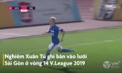 Chiêm ngưỡng bàn thắng đẹp nhất mùa giải V.League 2019 của tiền vệ Nghiêm Xuân Tú