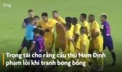 [Clip]: Những tình huống khiến Nam Định dọa bỏ V-League 2020