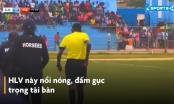 Giải VĐQG Somali: HLV đánh gục trọng tài sau khi nhận thẻ đỏ