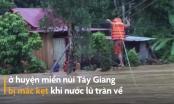 Video: Nín thở chứng kiến cảnh Công an đu dây cứu người giữa dòng nước lũ