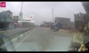 [Video]: Cần bơm bê tông chạm vào dây điện cao thế khiến một người bất tỉnh