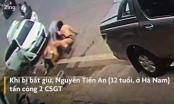 Video: Hai CSGT bị nhóm đối tượng tàng trữ ma tuý đá tấn công nhập viện