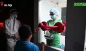 Video: Cận cảnh buồng lấy mẫu xét nghiệm chống nóng tại tâm dịch Bắc Giang