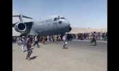 Clip: Người Afghanistan ồ ạt tháo chạy khỏi thủ đô Kabul