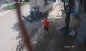 Clip: Nam thanh niên tông vào đuôi xe tải đang đỗ bên đường bất tỉnh