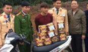 Hà Tĩnh: Bắt đối tượng vận chuyển 30 kg pháo bằng xe máy đi tiêu thụ
