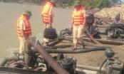 Cảnh sát đường thủy Hà Tĩnh: Liên tiếp bắt giữ cát tặc dịp cuối năm