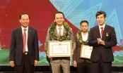 """Chủ tịch FLC nhận danh hiệu """"Vì sự phát triển Thanh Hoá"""""""