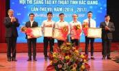 Bắc Giang: 83 sản phẩm sáng tạo khoa học, kỹ thuật được trao giải sau 9 tháng tranh tài