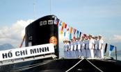 Hải quân Việt Nam tiếp nhận đưa vào biên chế đầy đủ 6 tàu ngầm Kilo 636