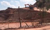 Công ty Khoáng sản Linh Trung bị phạt nặng vì cả gan khai thác đất vượt ngoài ranh giới