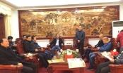 CLB Báo chí đồng hương Bắc Giang tại Hà Nội thăm và chúc Tết huyện Hiệp Hoà