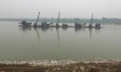 Vĩnh Phúc: Cát tặc đục khoét dòng sông Lô