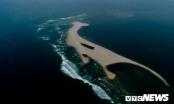 Bộ Nông nghiệp khảo sát đảo cát nổi giữa biển Hội An