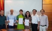 Đảng bộ Báo Pháp luật Việt Nam kết nạp 3 Đảng viên mới