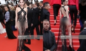Ngọc Trinh bị chê khoe vòng 3 phản cảm tại Cannes 2019