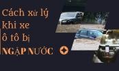 Inforgraphics - Cách xử lý khi xe ô tô bị ngập nước