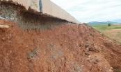 Bắc Giang: Một số công trình cải tạo kênh tưới tiêu có vết nứt và chậm tiến độ
