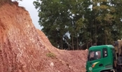 """Bắc Giang: Mỏ đất ở xã Lam Cốt cấp phép """"một đằng làm một nẻo"""""""