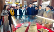 """Bắc Giang: Khai mạc triển lãm, trưng bày """"Mộc bản chùa Bổ Đà"""""""