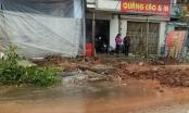 Công ty Tân Thịnh thi công đường làm hỏng đường ống nước sạch tại huyện Lạng Giang