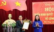 Bộ Chính trị công bố quyết định nhân sự ở Đắk Nông