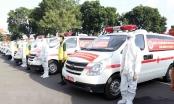 Bộ Quốc Phòng bàn giao 30 xe cứu thương hỗ trợ TP.HCM chống dịch