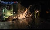 Phú Thọ: Một tai nạn thảm khốc, 4 xe tiền tỷ bị... hóa vàng