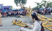 Hải Phòng: Sập cần cẩu khiến 3 người thương vong