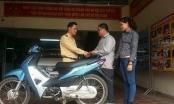 Hà Nội: Bất ngờ nhận lại xe máy sau hơn 1 tháng bị mất cắp