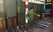 Lạng Sơn: Thu giữ hàng trăm thanh kiếm và công cụ hỗ trợ