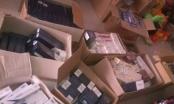 """""""Đột nhập"""" cửa hàng tạp hóa thu giữ hàng nghìn bao thuốc lá lậu"""