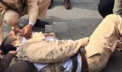 Vụ kéo lê CSGT hàng chục mét tại Gia Lâm: 18 năm tù cho tài xế bất nhân