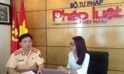 Trực tuyến với lãnh đạo CSGT Hà Nội về Nghị định 46