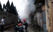 Cháy lớn tại Khách sạn Thể thao Yên Bái, khói đen kịt bủa vây tòa nhà 4 tầng