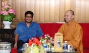Hà Nội: Quốc vụ khanh Sri Lanka thăm và lễ Phật tại chùa Quán Sứ