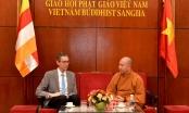 Đoàn Đại sứ quán Mỹ thăm và làm việc với Giáo hội Phật giáo Việt Nam