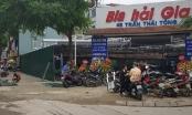 Nhà hàng đang kinh doanh ổn định, UBND phường Dịch Vọng cho quân rào tôn lại?