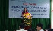 Hội nghị triển khai các văn bản pháp luật về an toàn thực phẩm tại Hậu Giang