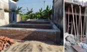 """Trực Ninh, Nam Định: Huyện nói đã đình chỉ thi công, công trình vẫn """"ào ào"""" xây dựng trên đất đang tranh chấp?"""