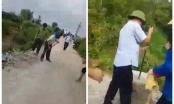 """Thái Nguyên: Lãnh đạo xã ở Đại Từ bị cả thôn tố """"bảo kê"""" cho xe gỗ phá đường nông thôn mới?"""