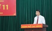 Ông Nguyễn Quốc Trung được bầu giữ chức Chủ tịch UBND TP Cao Bằng