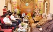 Ban Tôn giáo Chính phủ chúc mừng Giáo hội Phật giáo Việt Nam nhân mùa Vu Lan Báo Hiếu