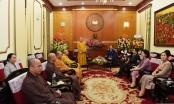 Giáo hội Phật giáo Việt Nam chúc mừng Ngày truyền thống Mặt trận Tổ quốc Việt Nam