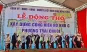 Hải Phòng: Quận Hồng Bàng khởi công xây dựng công viên cây xanh phường Trại Chuối