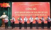 Công bố Quyết định bổ nhiệm lãnh đạo UBND các quận và huyện đảo Hoàng Sa