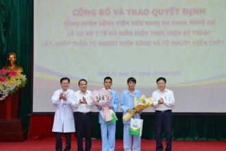 Bệnh viện HNĐK Nghệ An: Đơn vị đạt đủ điều kiện thực hiện kỹ thuật lấy, ghép thận